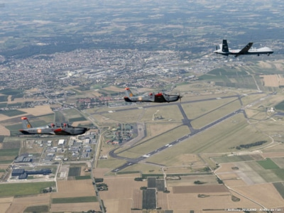 Visite base aérienne de cognac